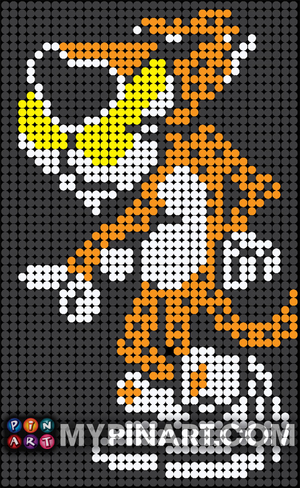 Pushpin Art Chester Cheetah