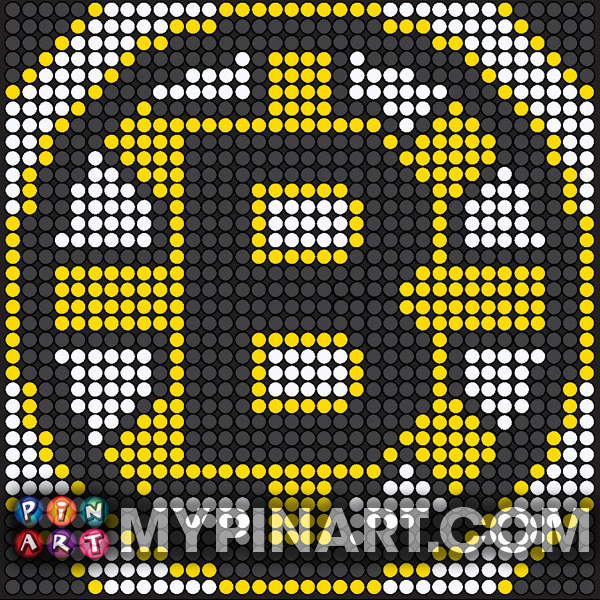 Pushpin Art Boston Bruins