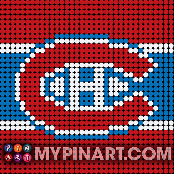 Pushpin Art Montreal Canadiens